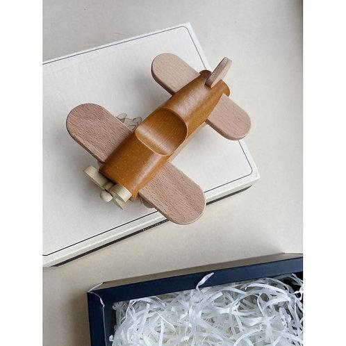 avion en bois - almond - konges