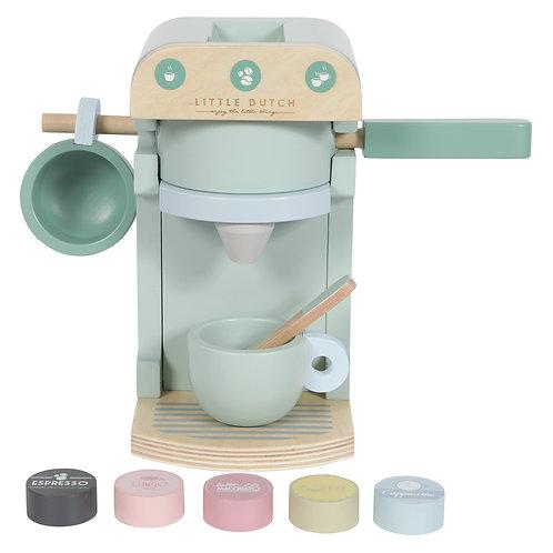 Machine à Café en Bois-Little Dutch
