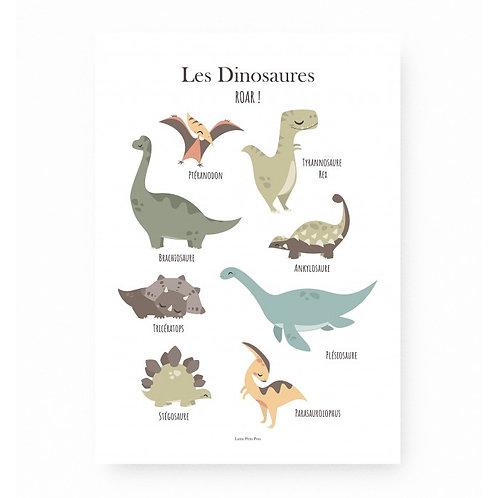 Les Dinosaures-Lutin petit pois