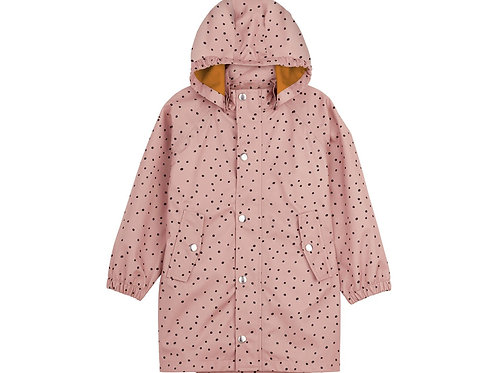 Imperméable Long Spencer Confetti Rose-Liewood