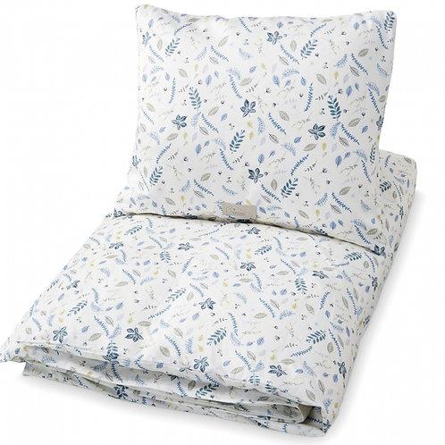 Parure de lit coton 100% bio CamCam | Leaves Bleu