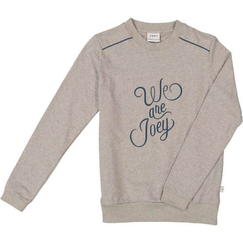 LE SWEAT WE ARE JOEY - ADULTE