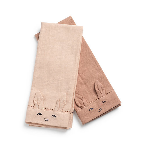 Serviettes de table enfant - Faded Rose/Powder Pink