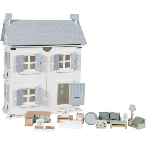 Maison de poupée blue Little Dutch
