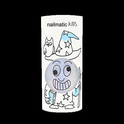 Vernis enfant base eau - Merlin - bleu nacré-Nailmatics KIDS