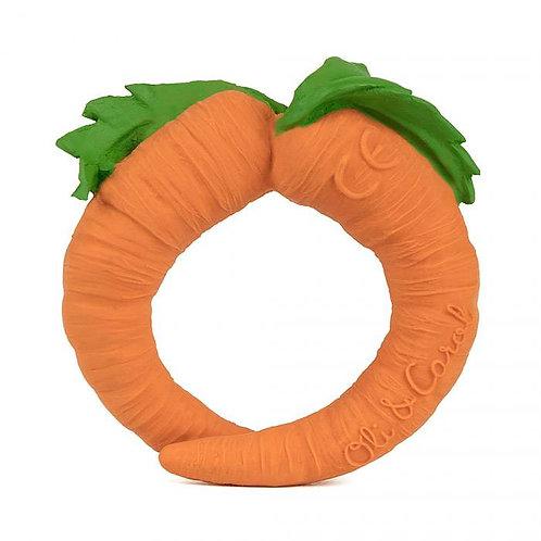 Cathy la carotte en latex d'hévéa Oli & Carol