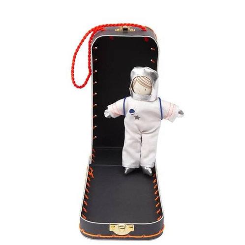 Valise  poupée mini astronaute Meri meri