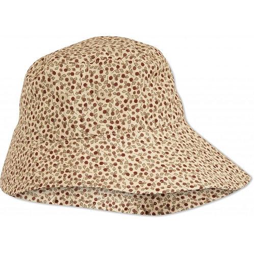 chapeau de soleil roseraie red-Konges Slojd