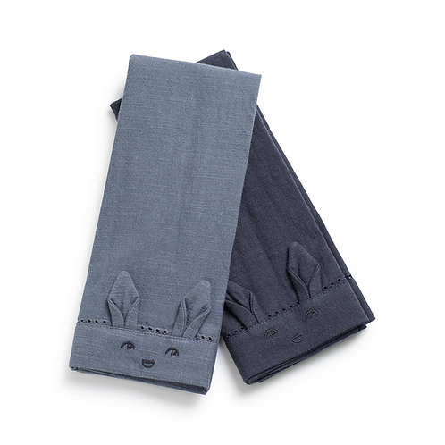 Serviettes de table enfant - Tender Blue/Juniper Blue