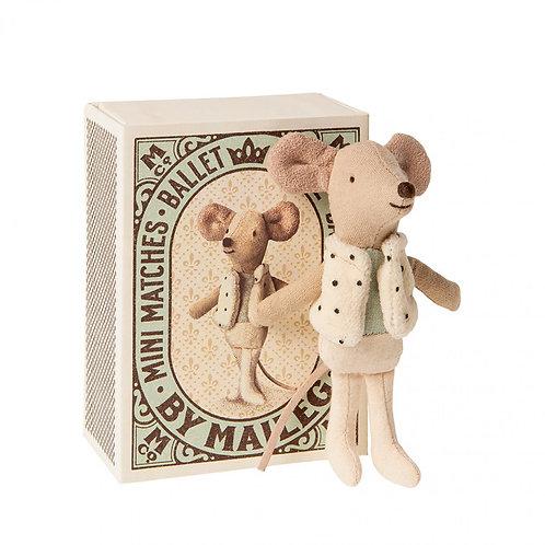 Souris Danseur Petit Frère dans sa boîte-Maileg