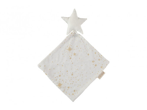 Doudou Star gold stella/ white