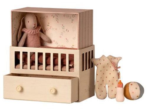 Chambre bébé Lapin rose -Maileg