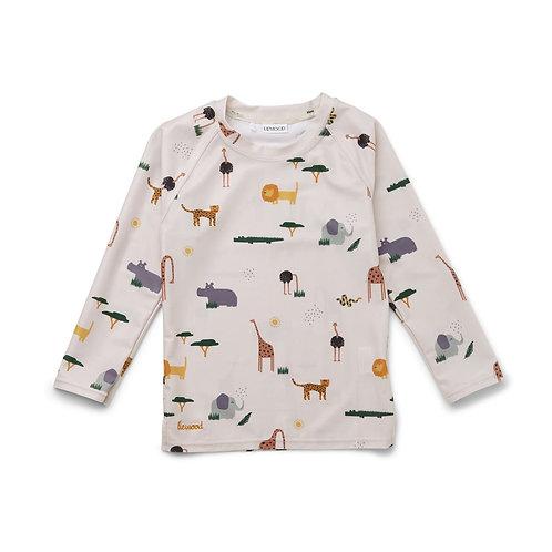 T-shirt anti UV-Safari-Liewood