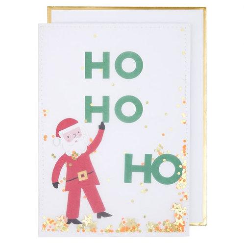 Carte Père Noël - Meri Meri