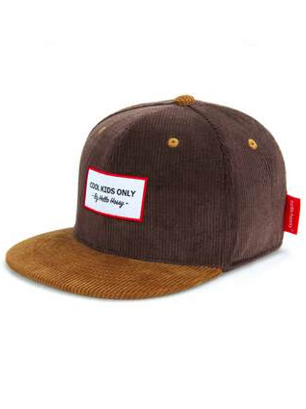 Casquette velour Brownie- Hello Hossy