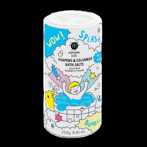 Sels de bain moussants bleus-Nailmatics