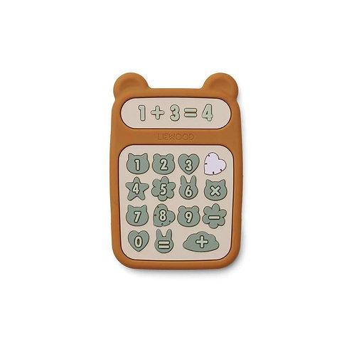 Calculateur Anneau de dentition Mustard -Liewood