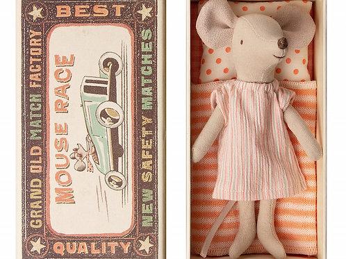 "Petite souris grande soeur dans sa boîte ""Maileg"""