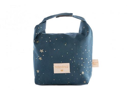 Eco lunch bag gold stella/ night blue