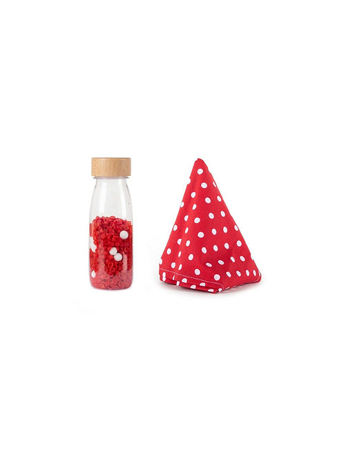 Mon premier jouet bouteille et foulard - Petit Boum