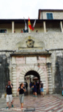 Главные ворота Котор