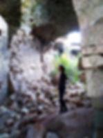 Развалины крепости Космач
