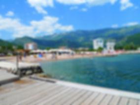 Городской пляж Будва