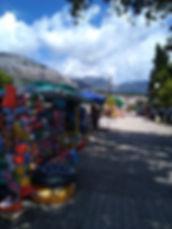 черногория город Бар променад