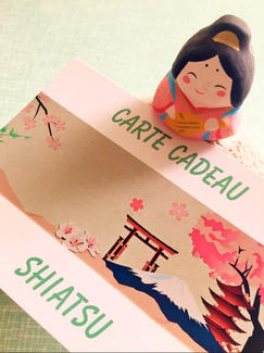 Carte Cadeau Shiatsu