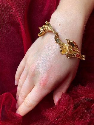 Golden Baroque Bangle