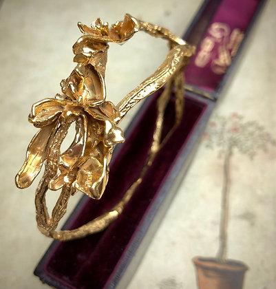 Golden Branch Bangle