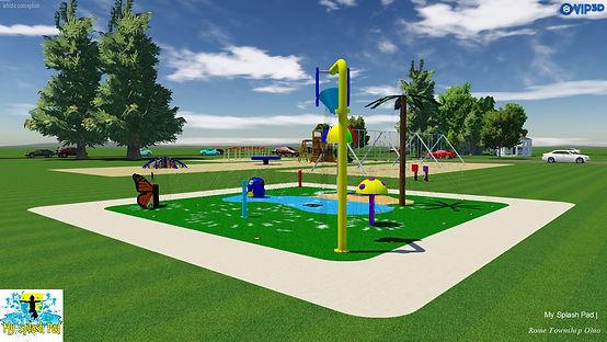Rome Township Ohio Splash Pad-new design