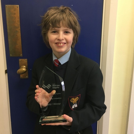 All Wales Coding Competition Winner