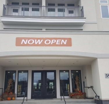 """""""Now Open"""" Banner"""