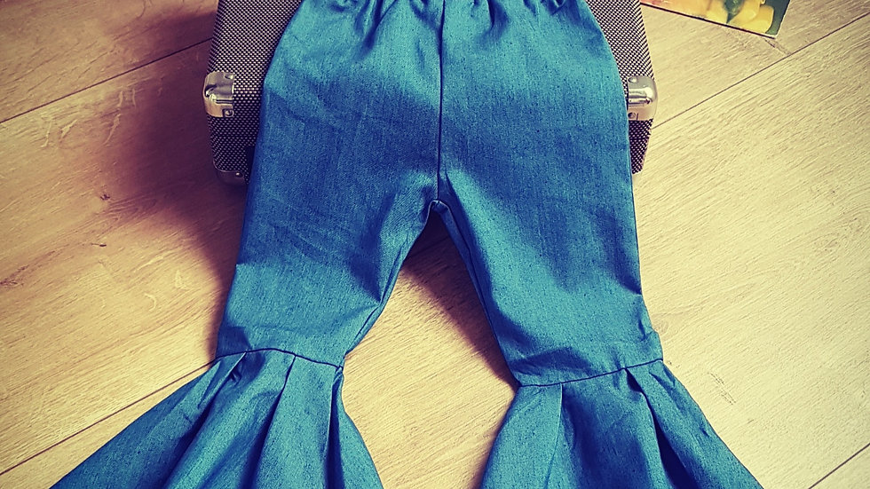 Cotton bell bottoms