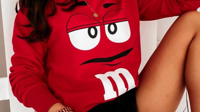 Cotton sweat top M&M
