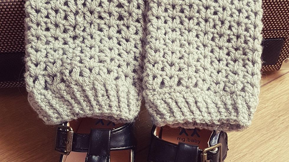 Woolen legs warmers