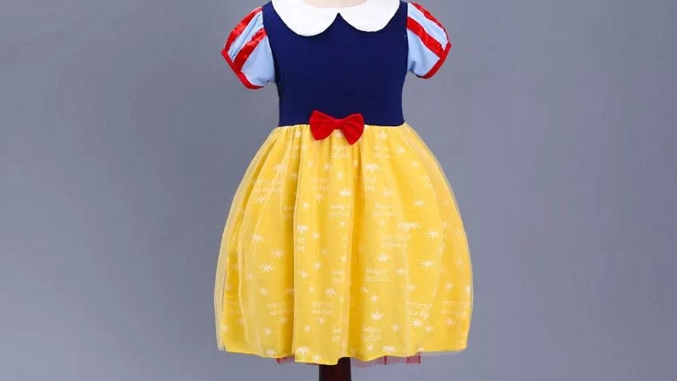 Cotton dress of Snow White princess