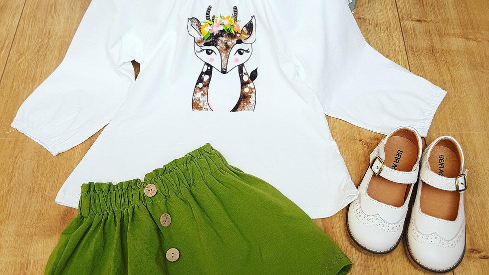Cotton hippie set for girls
