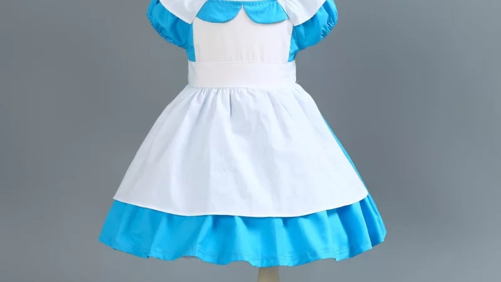 Cotton dress of Alice in Wonderland