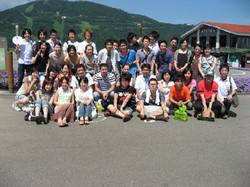 サークル夏合宿・集合写真/2006