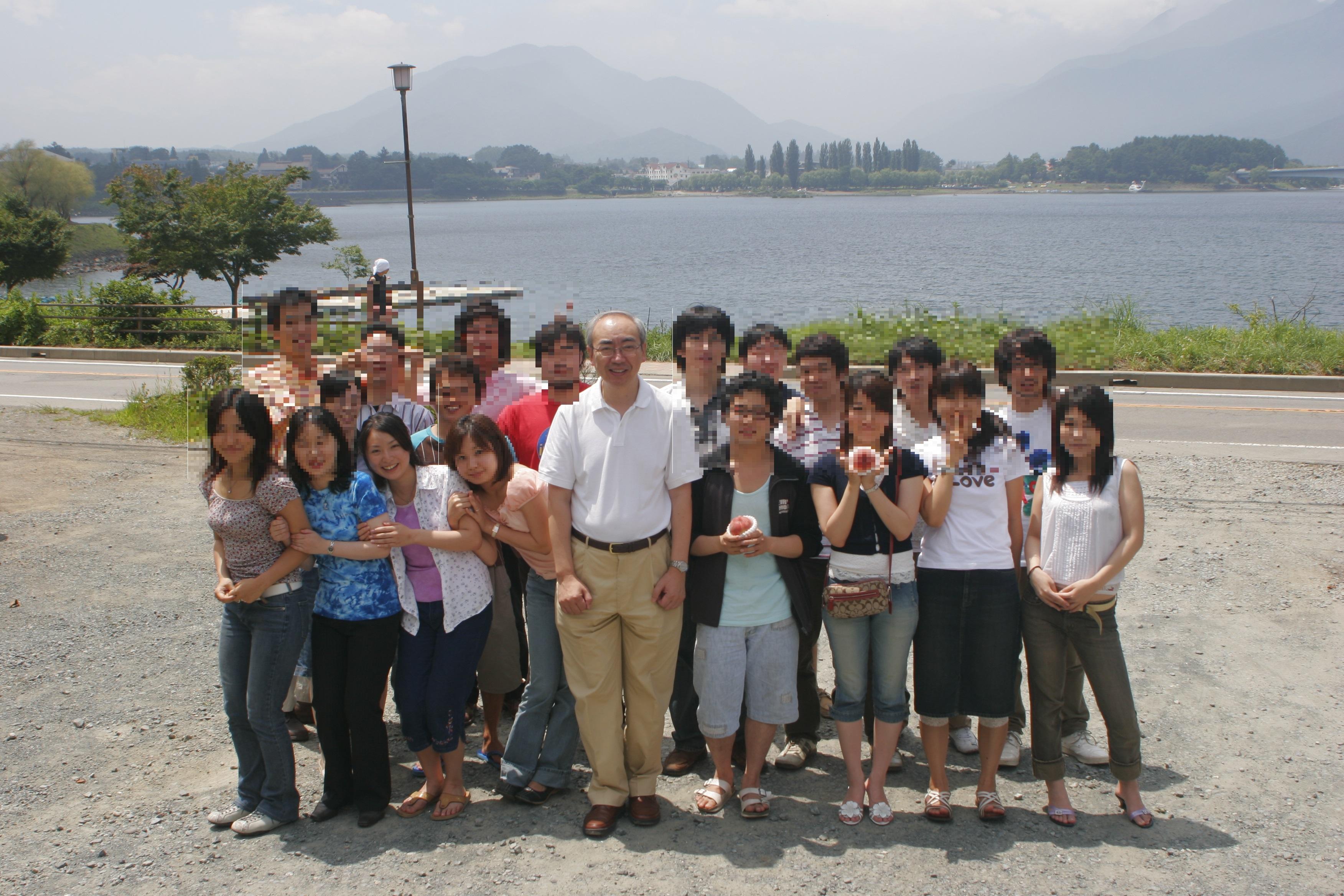 研究会合宿集合写真@河口湖/2006