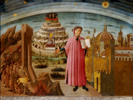 The Structure of Dante's Afterword in La Divina Comedia