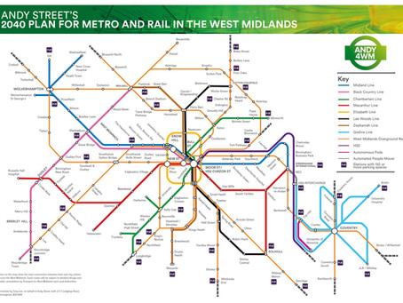 Andy Street's £15bn West Midlands Transport Plan: An Analysis