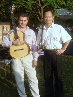 Ming and I in 2007 Festival