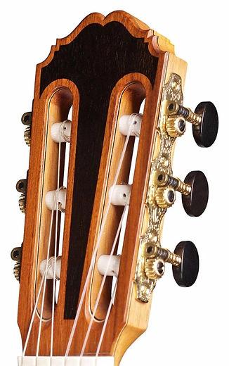 Classical guitart tuning macines.