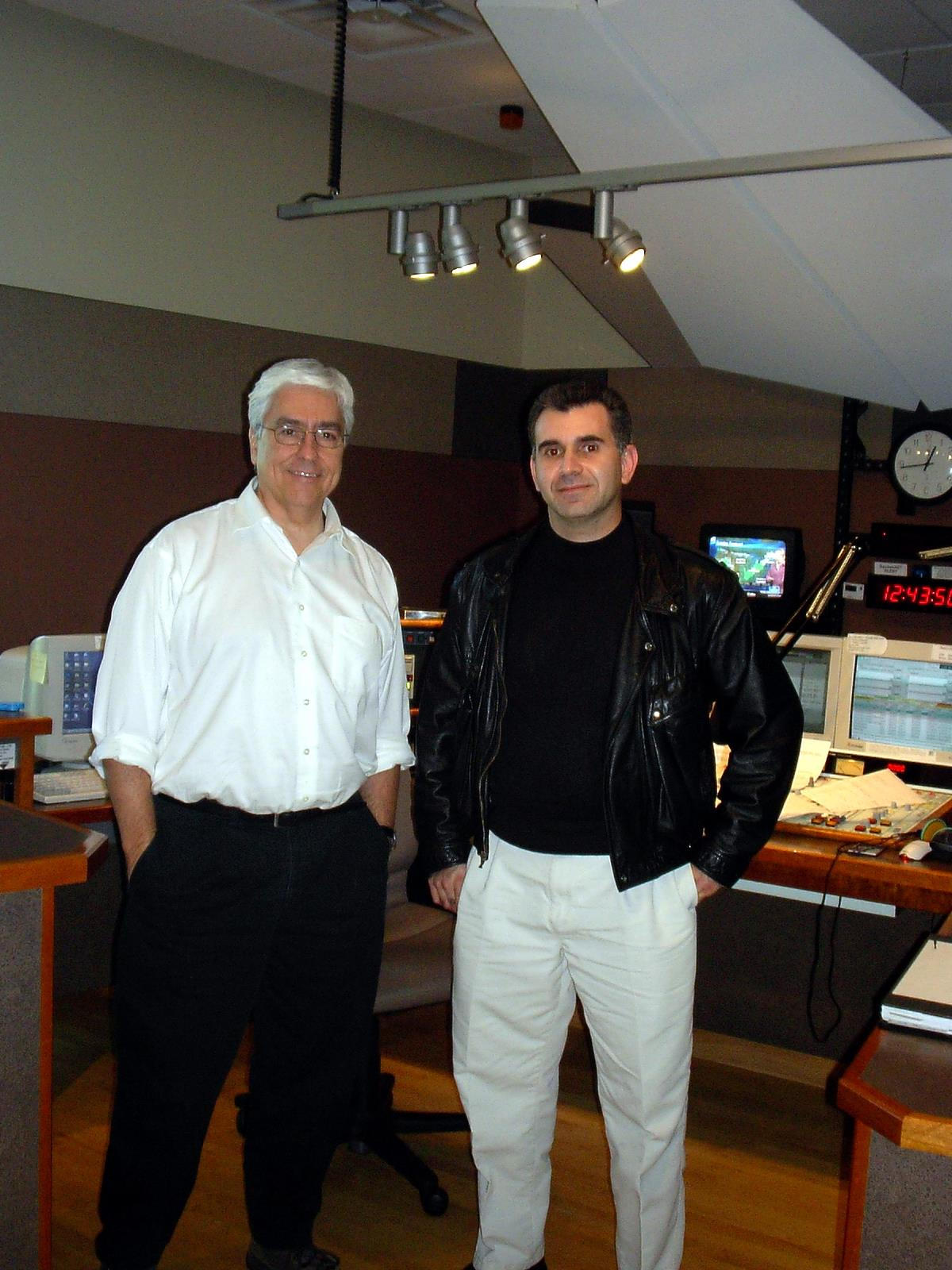 With Will Griffin at NPR