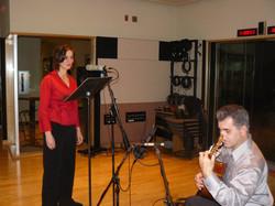 Stacia & Carlos at NPR