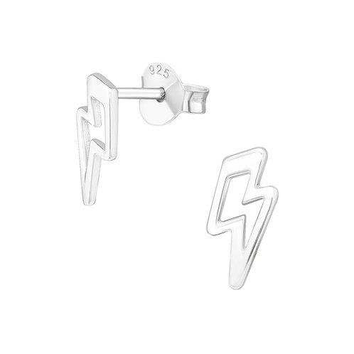 Lightning Sterling Silver Studs