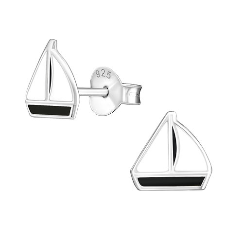 Sailboat Ear Studs